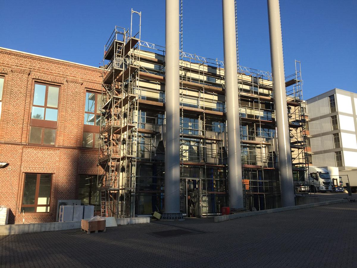 Gewerbliches Projekt Haribo Solingen Neubau Kesselhaus Arnulf Knoch