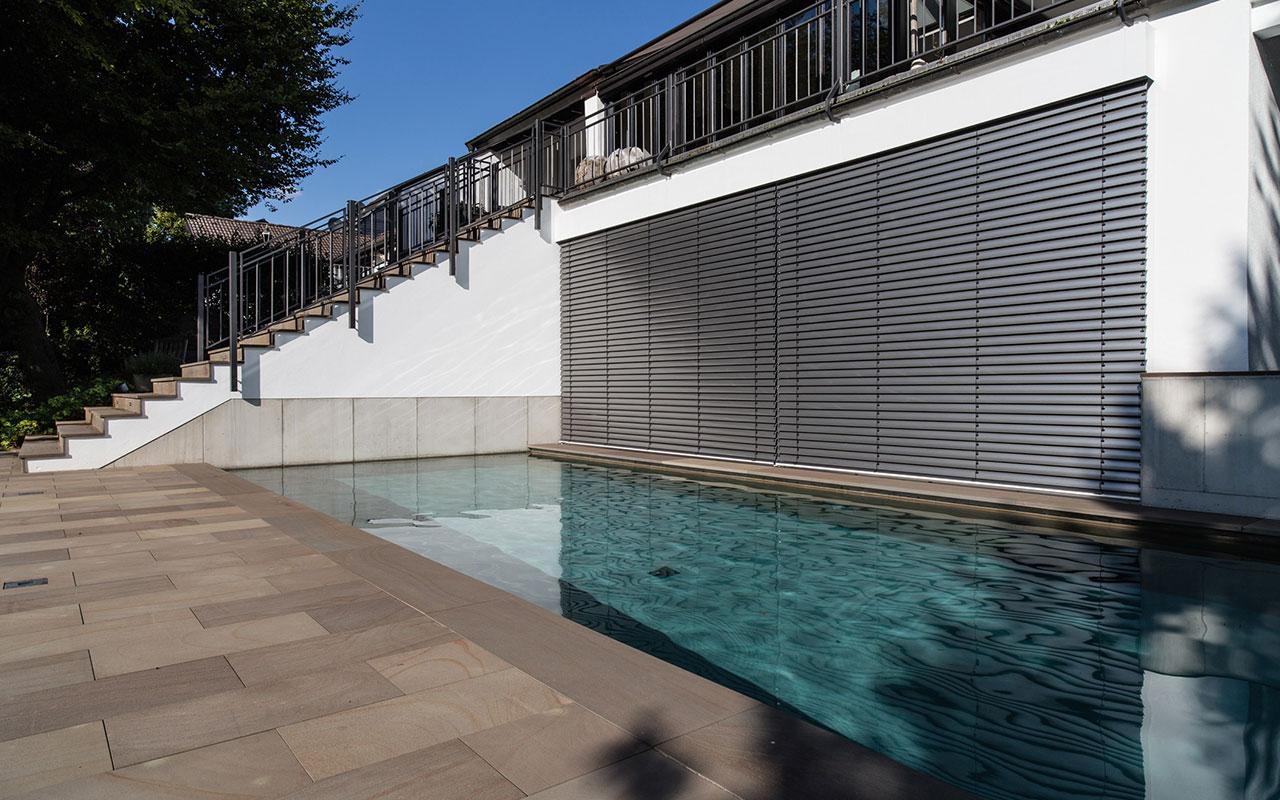 Privatprojekt Kellergeschoss Arnulf Knoch mit Pool