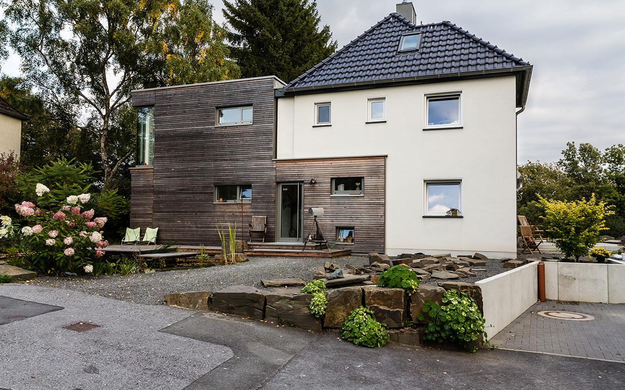 Privatprojekt Um- und Anbau eines Einfamilienhauses Arnulf Knoch