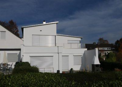 Erbenhäuschen Arnulf Knoch Fertiges Haus Gartenansicht