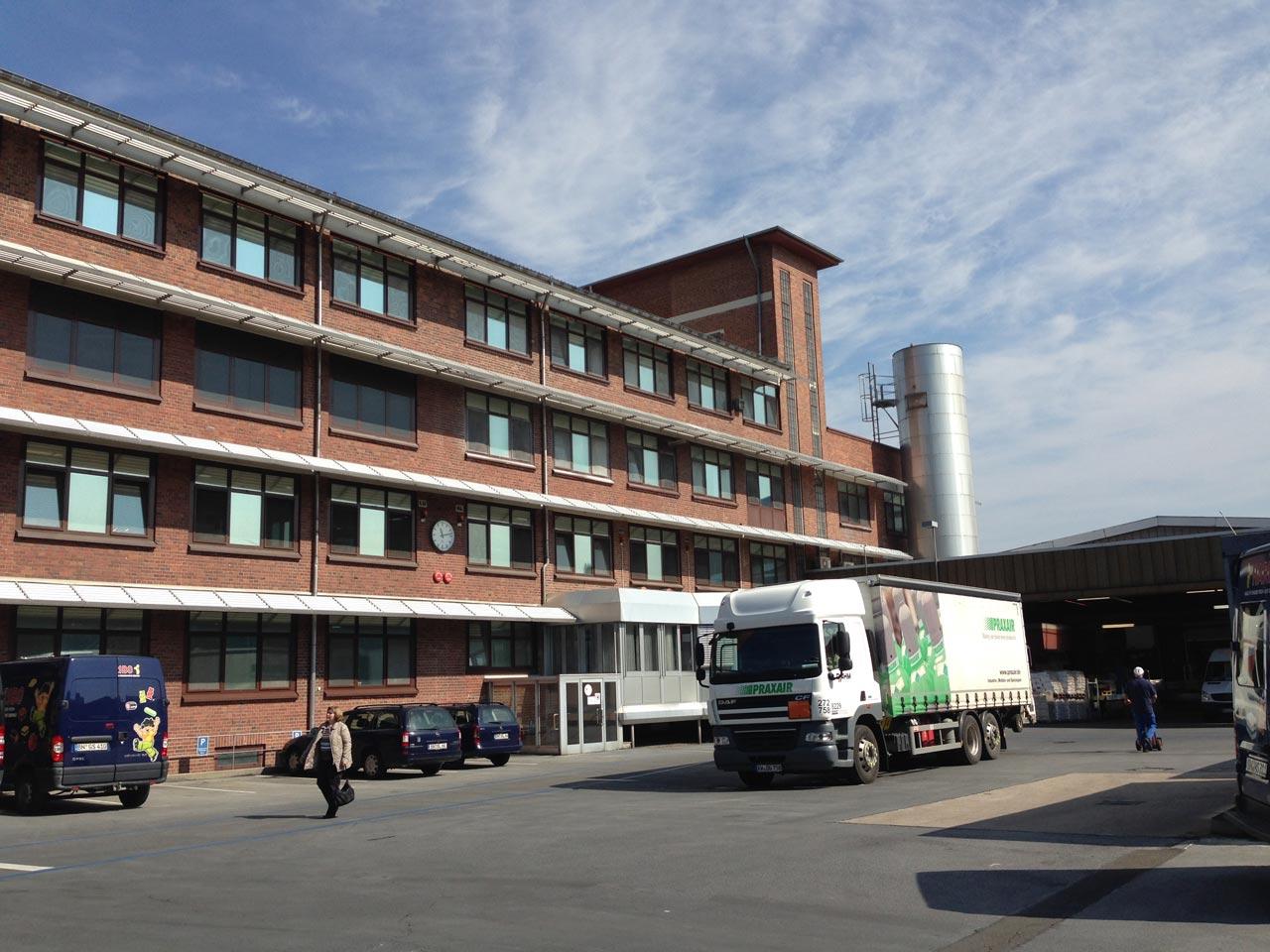 Gewerbliches Projekt Haribo Bonn Neubau Treppenhaus Vorher Arnulf Knoch