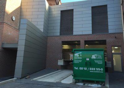 Haribo Solingen Rampe Umbau Architekt Knoch Container