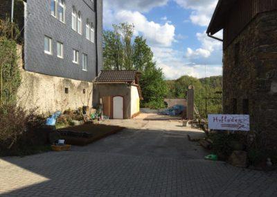Hofladen Neubau Architekt Knoch Abriss