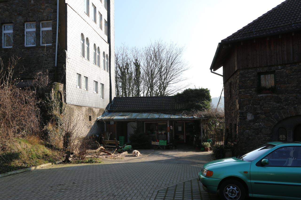Gewerbliches Projekt Umbau Hofladen Eingang Vorher Arnulf Knoch