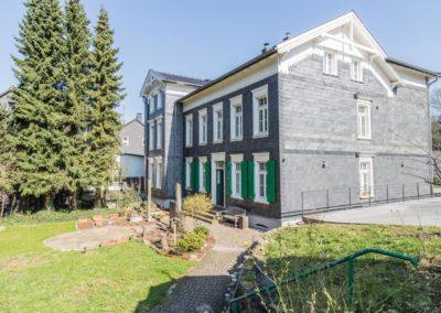 In der Freiheit Architekt Haus mit Garten