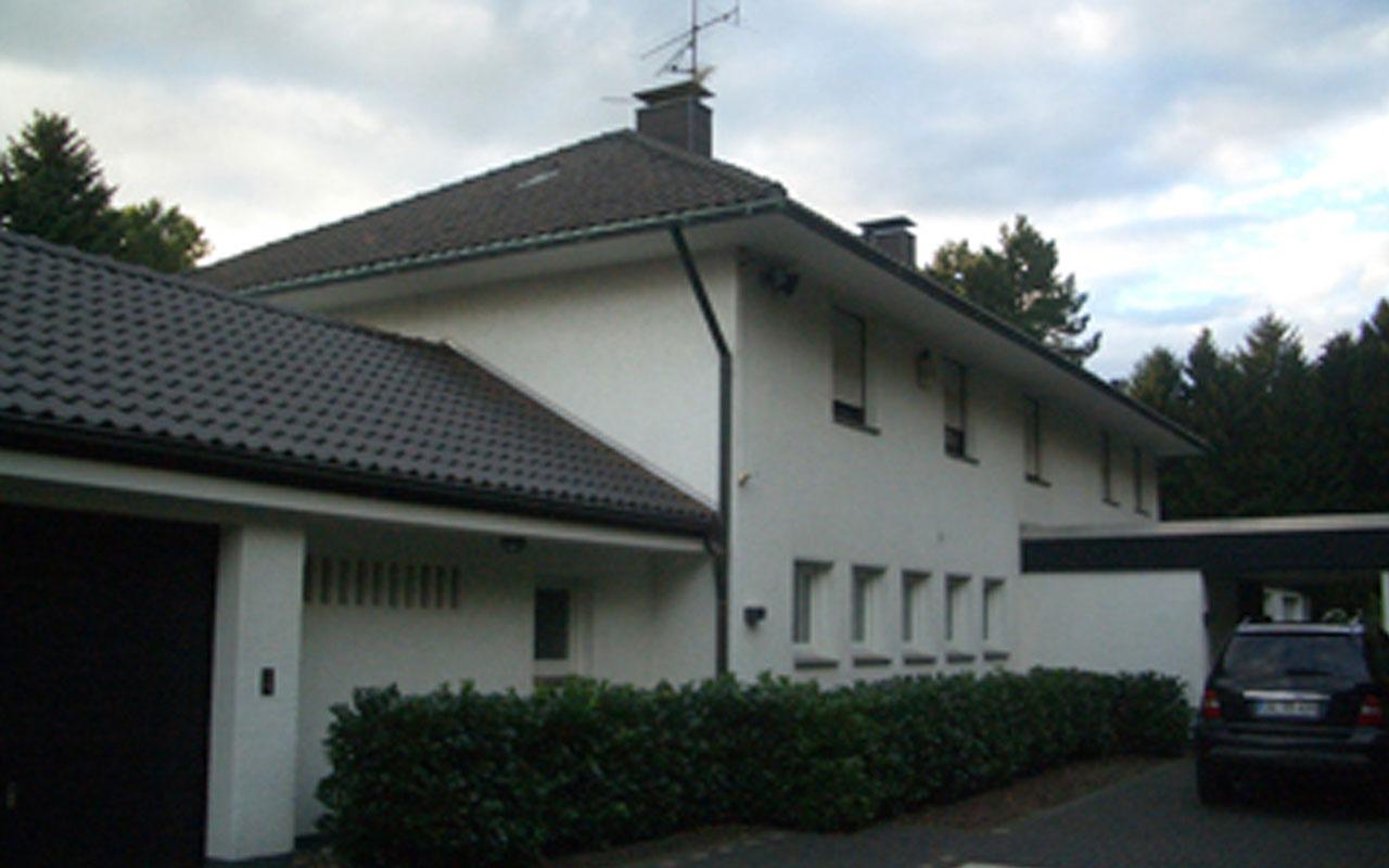 Privatprojekt Neubau Dachgeschoss Arnulf Knoch Vorher