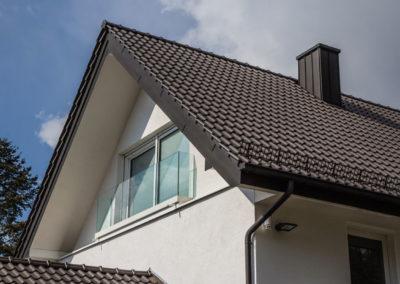 Neubau Dachgeschoss Fenster