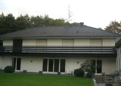 Neubau Dachgeschoss Vorherbild