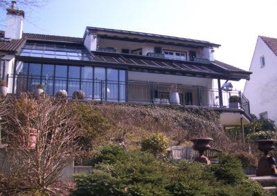 Privatprojekt Architekt Arnulf Knoch Terrasse