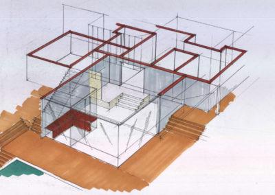 Privatprojekt Architekt Bauzeichnung