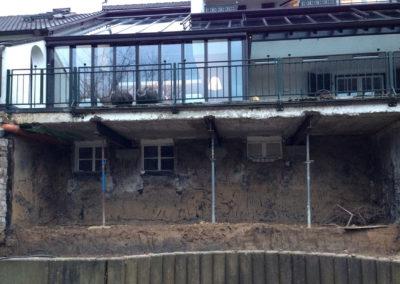 Privatprojekt Architekt Umbau Kellergeschoss