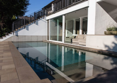 Privatprojekt Arnulf Knoch Architekt Pool