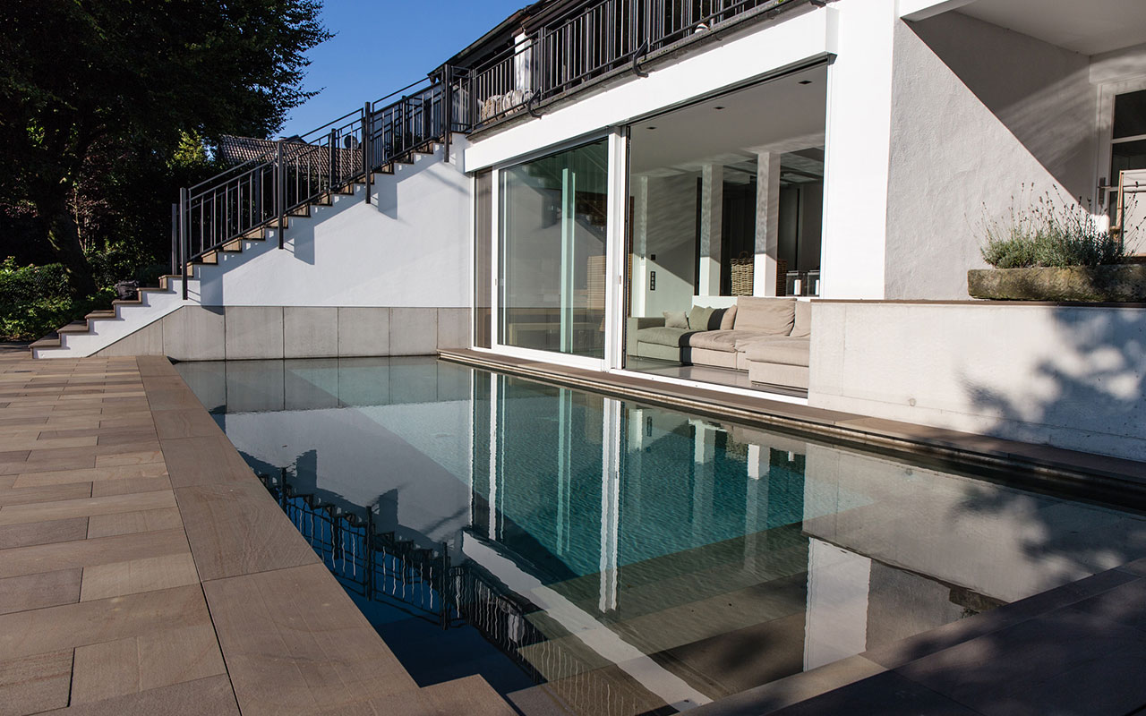 Privatprojekt Arnulf Knoch Architekt Pool