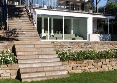 Projekt Einfamilienhaus Architekt Terrasse