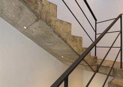 Trafo Solingen Architekt Knoch Innensicht Treppe
