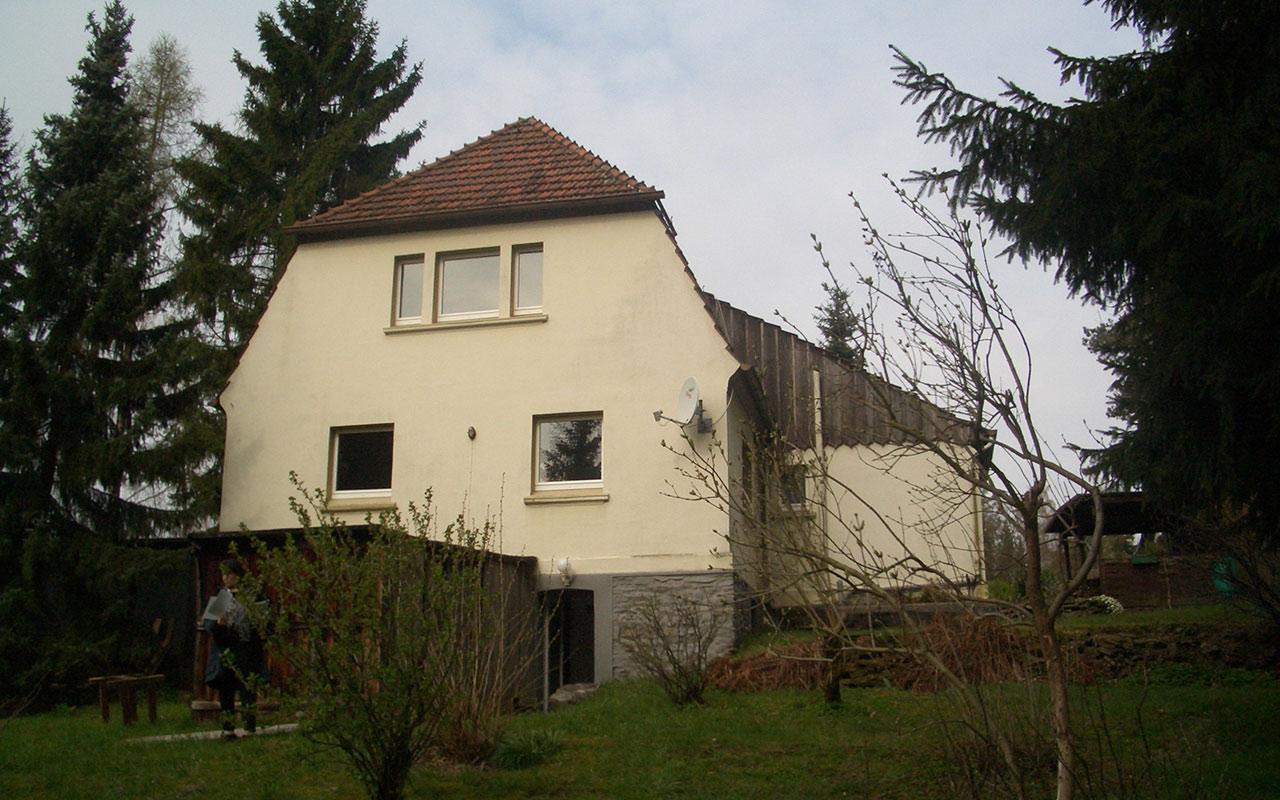 Privatprojekt Um- und Anbau eines Einfamilienhauses Arnulf Knoch Vorher