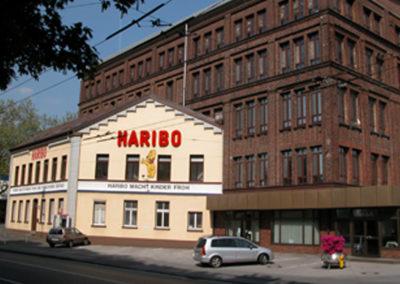 Projekt Haribo Altes Gebäude