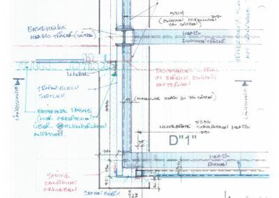 Küchenprofi Eingangsbereich Skizze