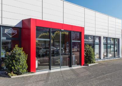 Küchenprofi Eingangsbereich Solingen