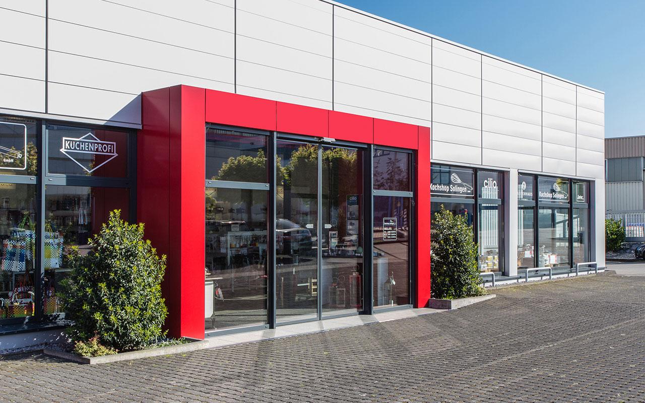 Gewerbliches Projekt Küchenprofi Solingen Eingangsbereich Arnulf Knoch