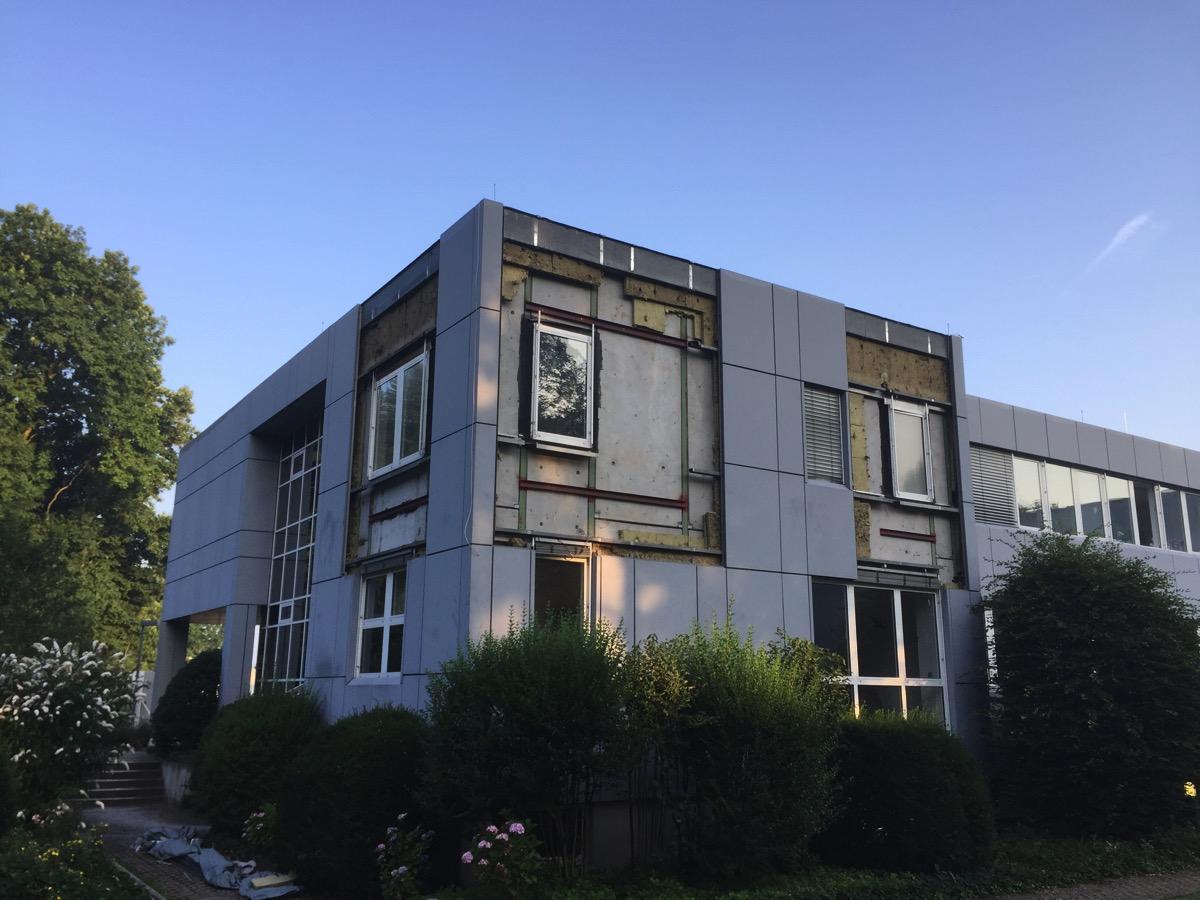 Gewerbliches Projekt Bürogebäude Vorher Arnulf Knoch